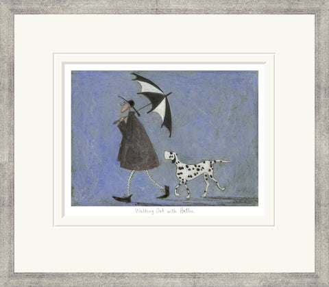 Sam Toft Walking Out With Hattie (2017) Framed