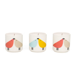 Scion Living - Lintu Bird Candle Small Set of 3
