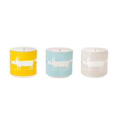 Scion Living - Mr Fox Candle Small Set of 3