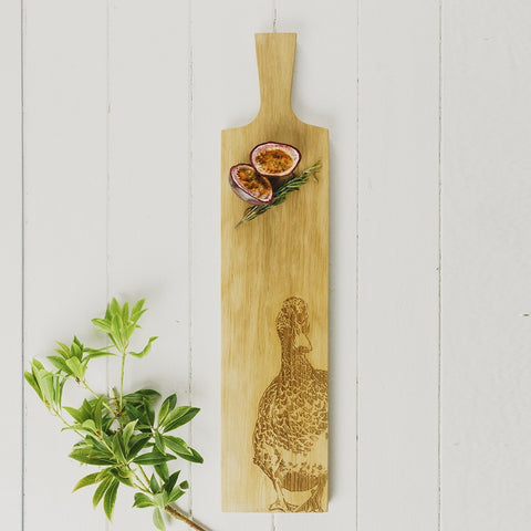 Selbrae House, Long Duck Oak Serving Paddle