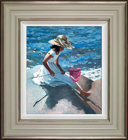 Sitting on the Rocks by Sherree Valentine Daines