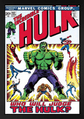 Marvel - The Incredible Hulk #152 - Who Will Judge The Hulk? - Boxed Canvas (2013)