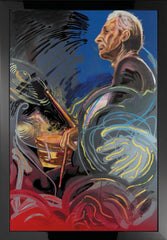 Ronnie Wood - The Blue Smoke Suite - Charlie - Boxed Canvas Edition (2012)