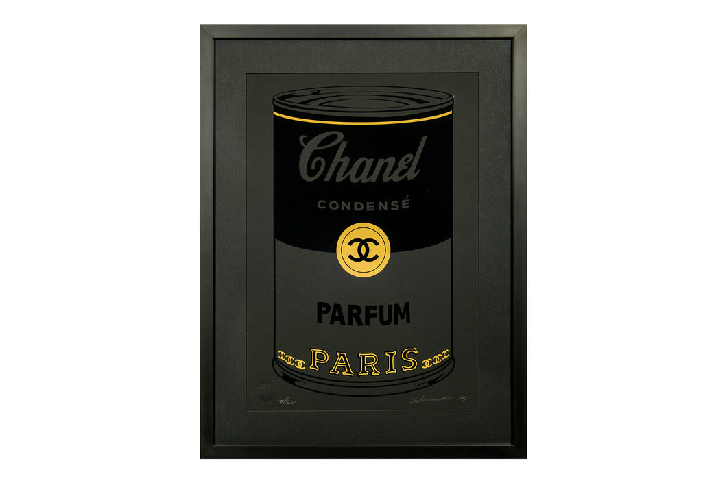 Chanel Can Parfum Black