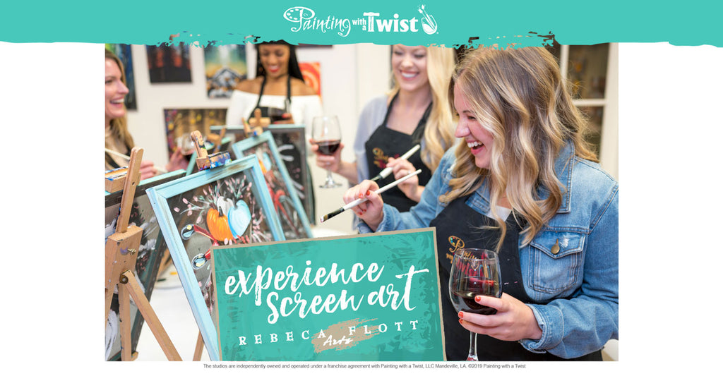 Classes at Painting with a twist