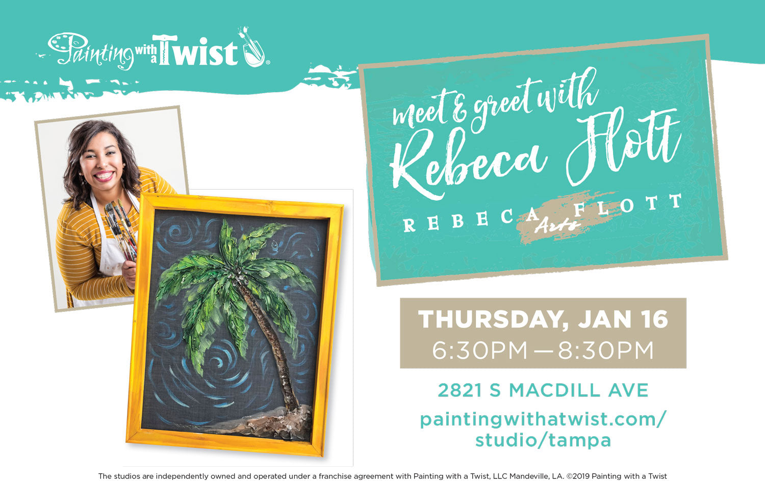 Meet and greet Rebeca Flott in Tampa, Florida