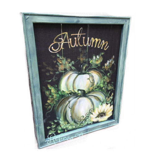 Autumn White Pumpkin
