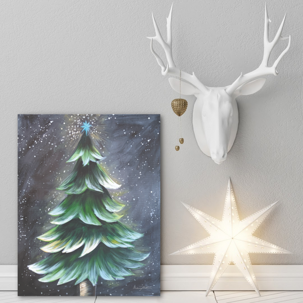 "Virtual Workshop Rustic Tree  ""Christmas tree 12/18/20 @10Am Est"