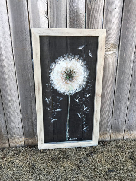 Long dandelion, farmhouse decor