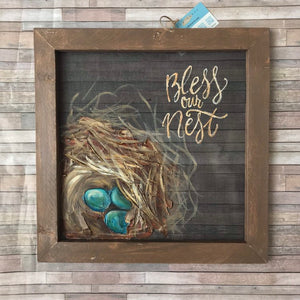 "Mini ""Bless Our Nest"""