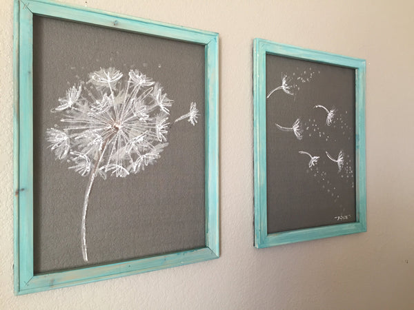 """Dandelion"" - Set of two"