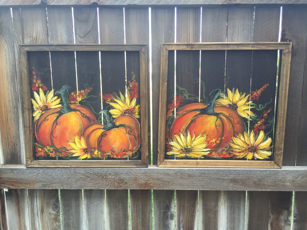 Fall pumpkin,personalize this for you, Fall decor, welcome sign,Fall screen