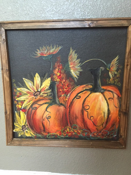 Pumpkins, fall decor - Customize this for you