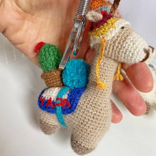 Load image into Gallery viewer, Alpaca Keychain & Bag Charm AMAPOLA