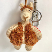 Load image into Gallery viewer, Alpaca Keychain & Bag Charm ALMENDRA
