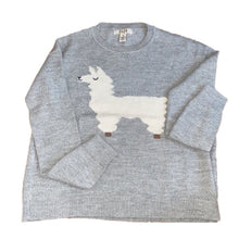 Load image into Gallery viewer, baby alpaca wool grey sweater