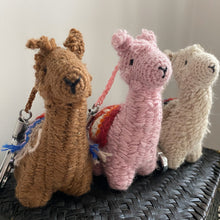 Load image into Gallery viewer, Alpaca Keychain & Bag Charm ALICIA