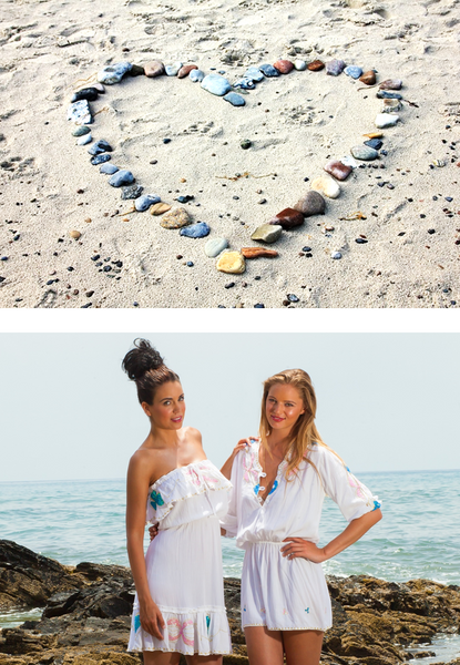 Atheni straplessbeachy dresses ,  effortless holiday beach kaftans,  strapless dresses by myabluebeach