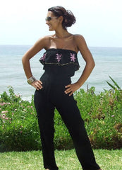 Holiday Jumpsuits by  design kaftan brand myabluebeach for the stylish traveller