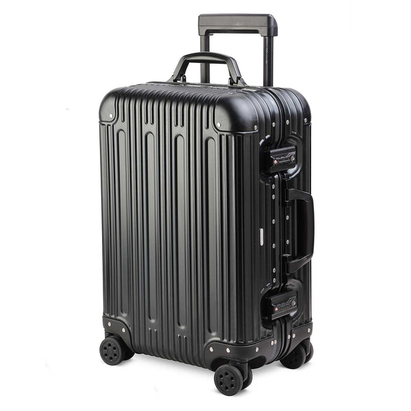 The Gotham Pewter - Cabin Bag - Pewter Alumimium Cabin Bag - Tresmode