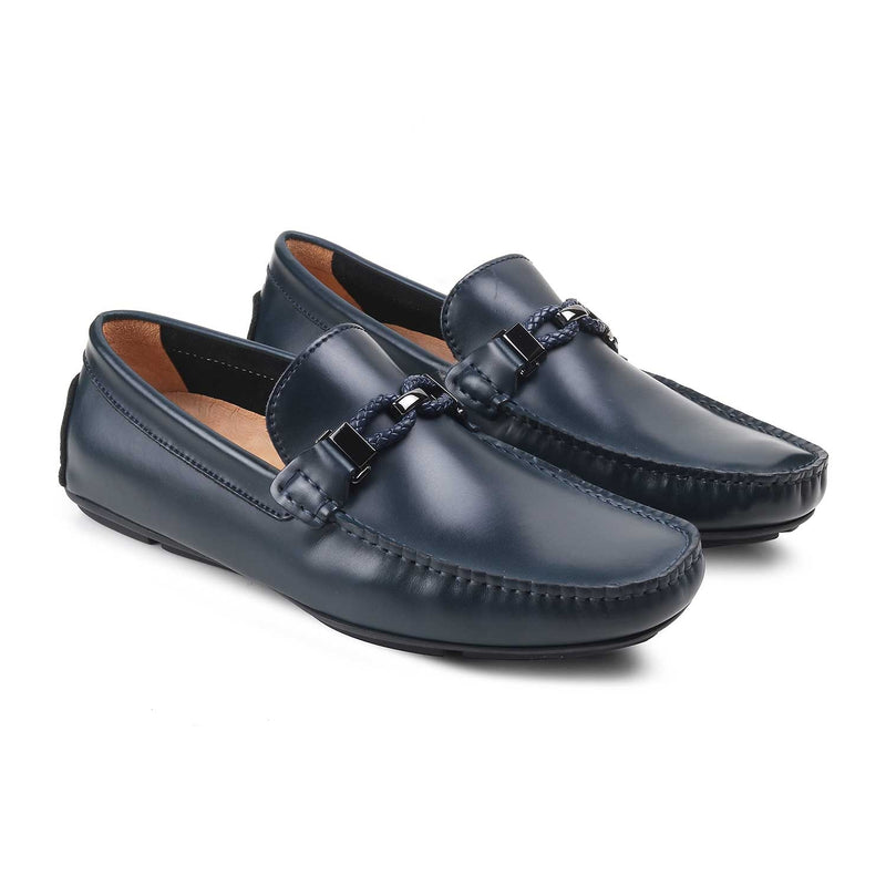 The Capri Blue Casual Loafers For Men