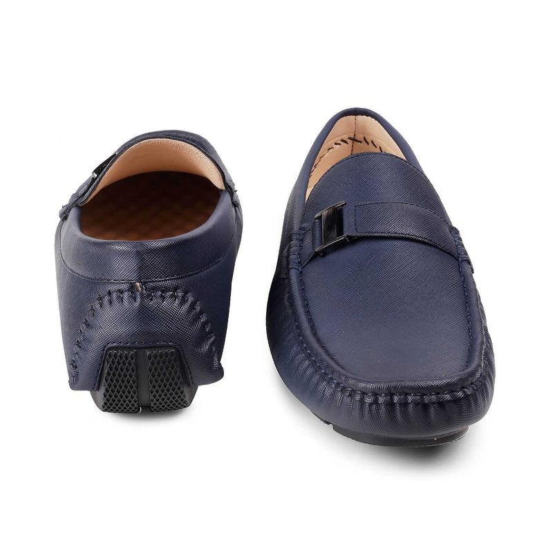 The Agrinio Blue - Blue driving loafers - Tresmode