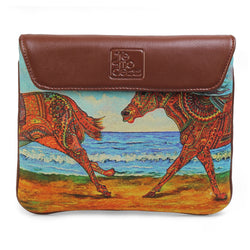 The Beach iPad Case by Anjali Minrai for Tresmode - Beach Print iPad Sleeve - Tresmode