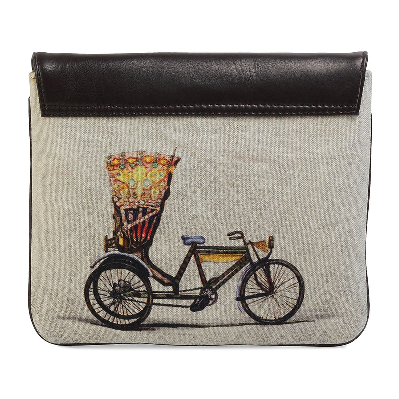 The Cycle iPad Case by Anjali Minrai for Tresmode - Cycle Print iPad Sleeve - Tresmode