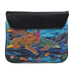 The Dolphin iPad Case by Anjali Minrai for Tresmode Print