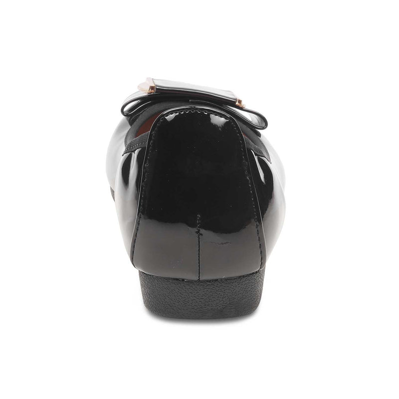 The Leon Black - Black ballerinas for women - Tresmode