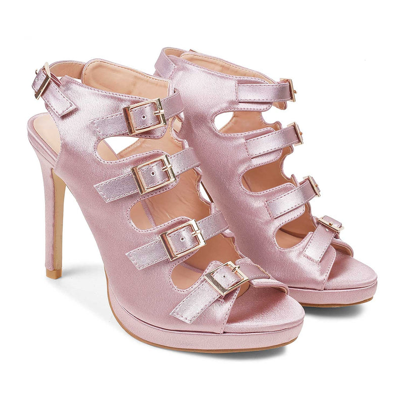 The Padua Pink high heel sandals
