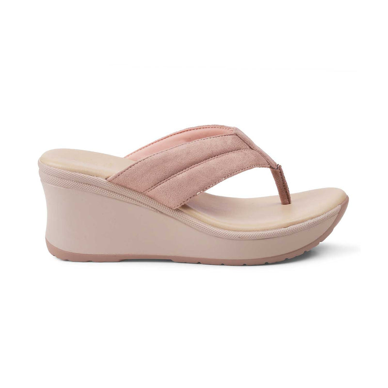 The Rotters PinkPink wedge heel sandals for women - Tresmode