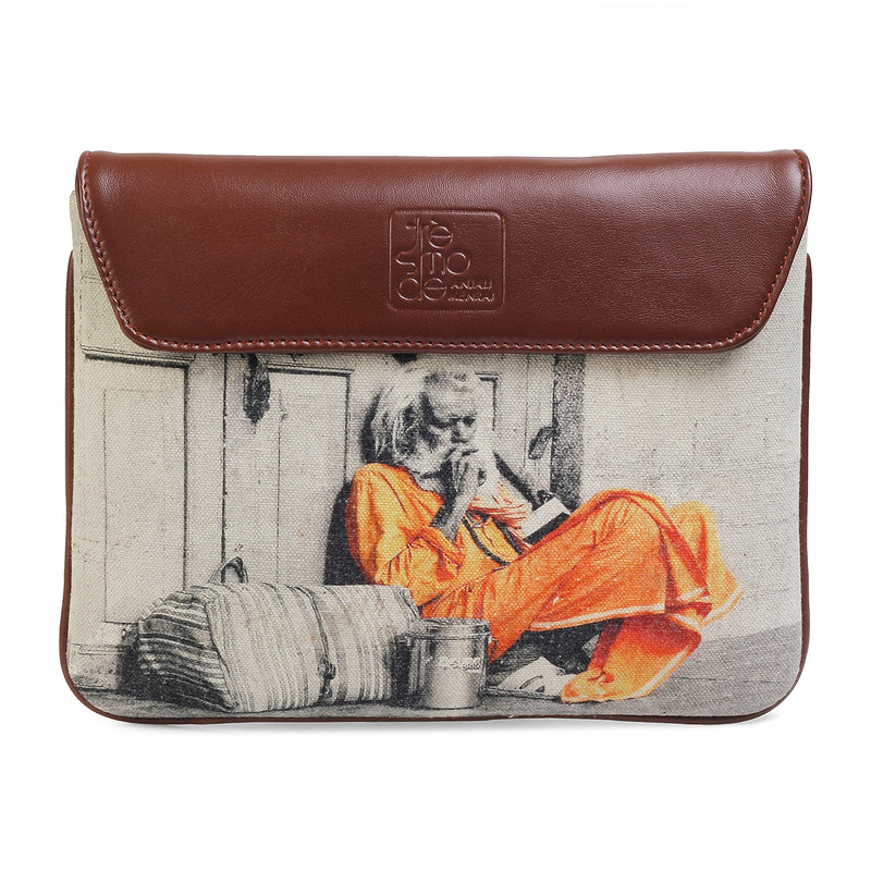 Sadhu Print iPad Sleeve-The Sadhu iPad Case by Anjali Minrai for Tresmode-Tresmode