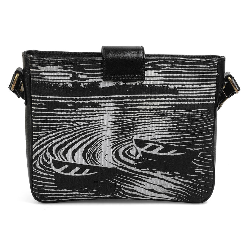 The Boat Sling Bag by Anjali Minrai for Tresmode Print