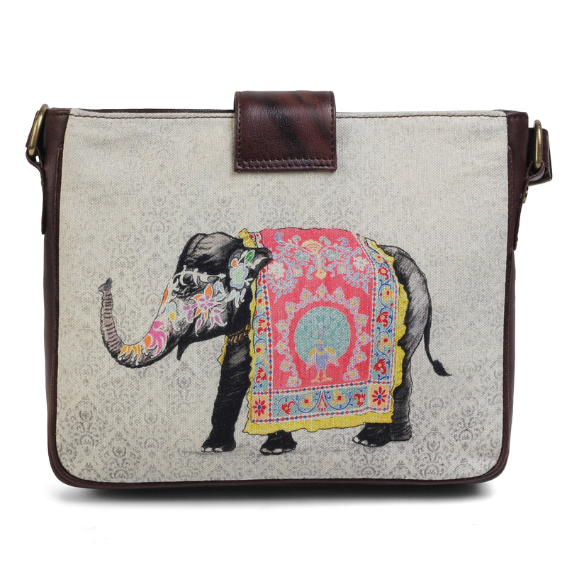 The Elephant Sling Bag by Anjali Minrai for Tresmode Print