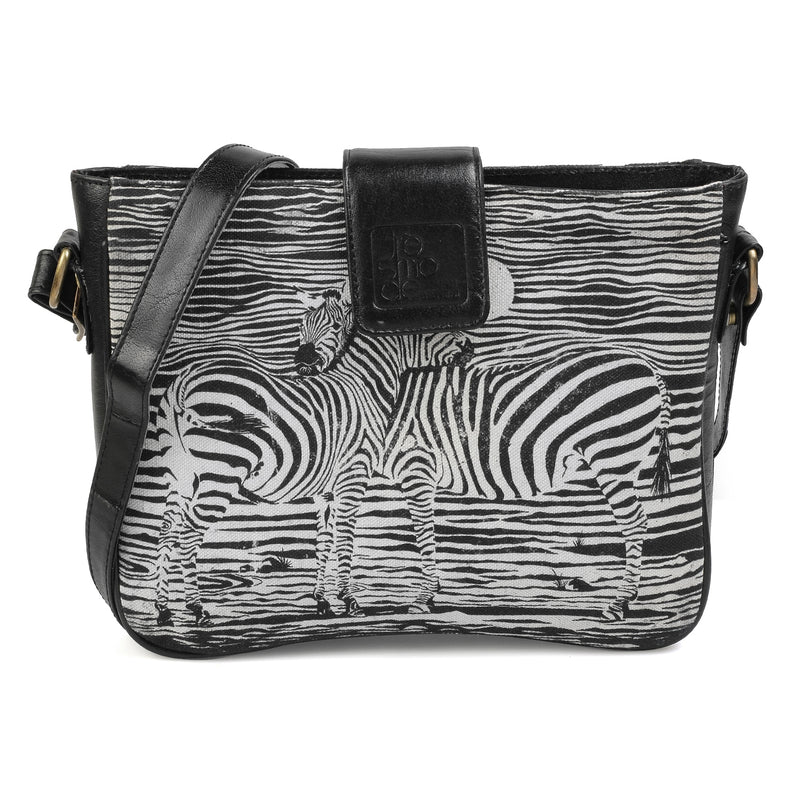 The Zebra Sling Bag by Anjali Minrai for Tresmode