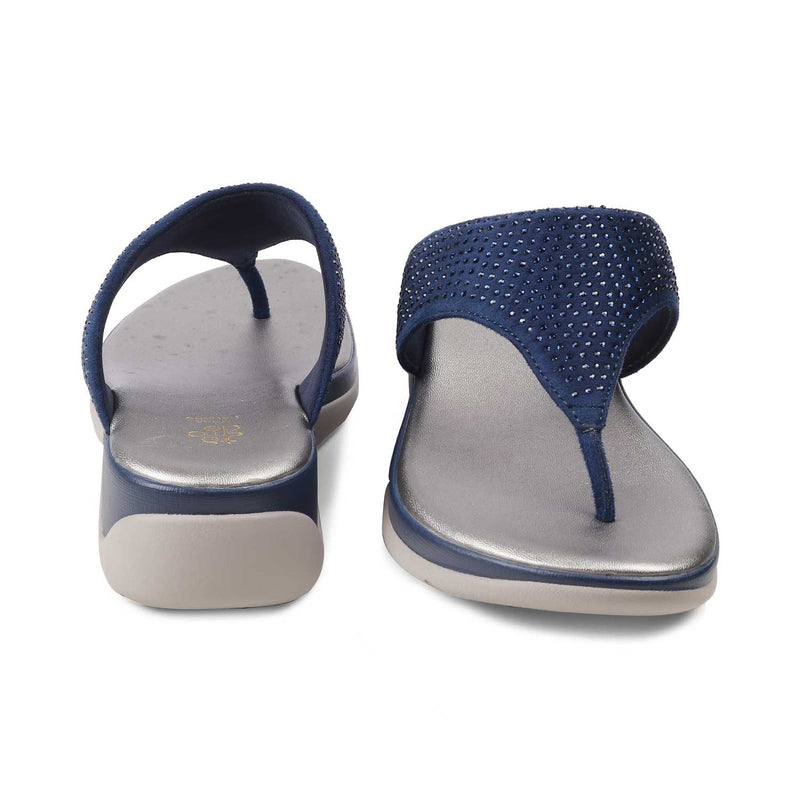 The Summer Blue - Blue flats for women - Tresmode