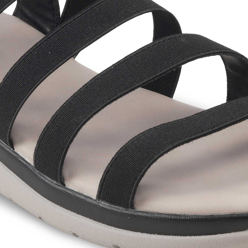 The Sun BlackBlack casual sandals for women - Tresmode