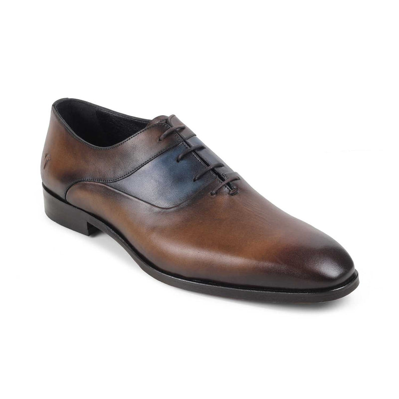 The Rickard Brown - Brown Oxford Laceups - Tresmode