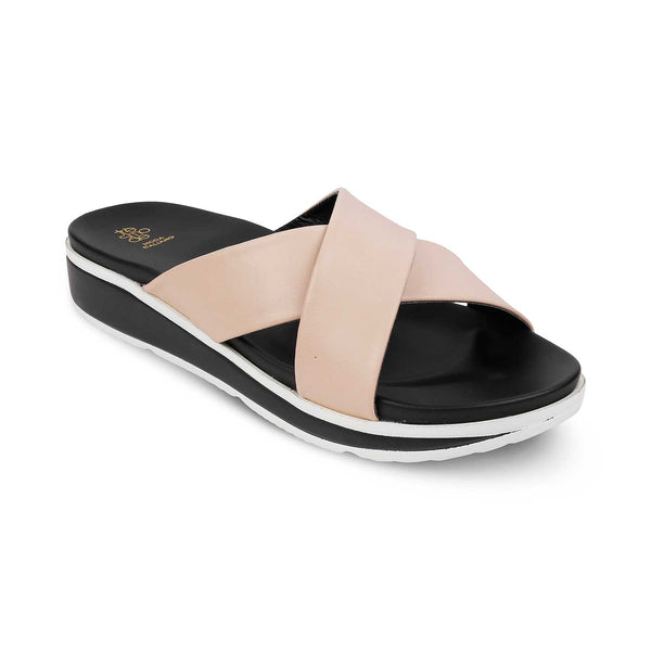 The Adi Tan sliders for women