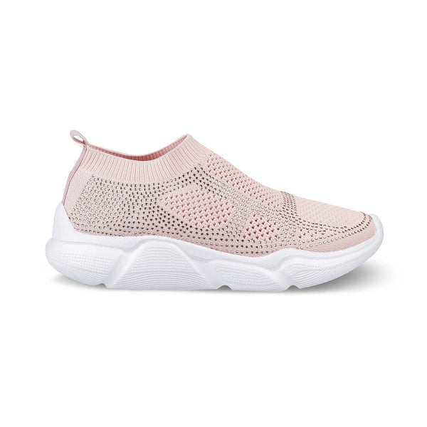 The Baiden Pink - Pink slip on sneakers for Women - Tresmode