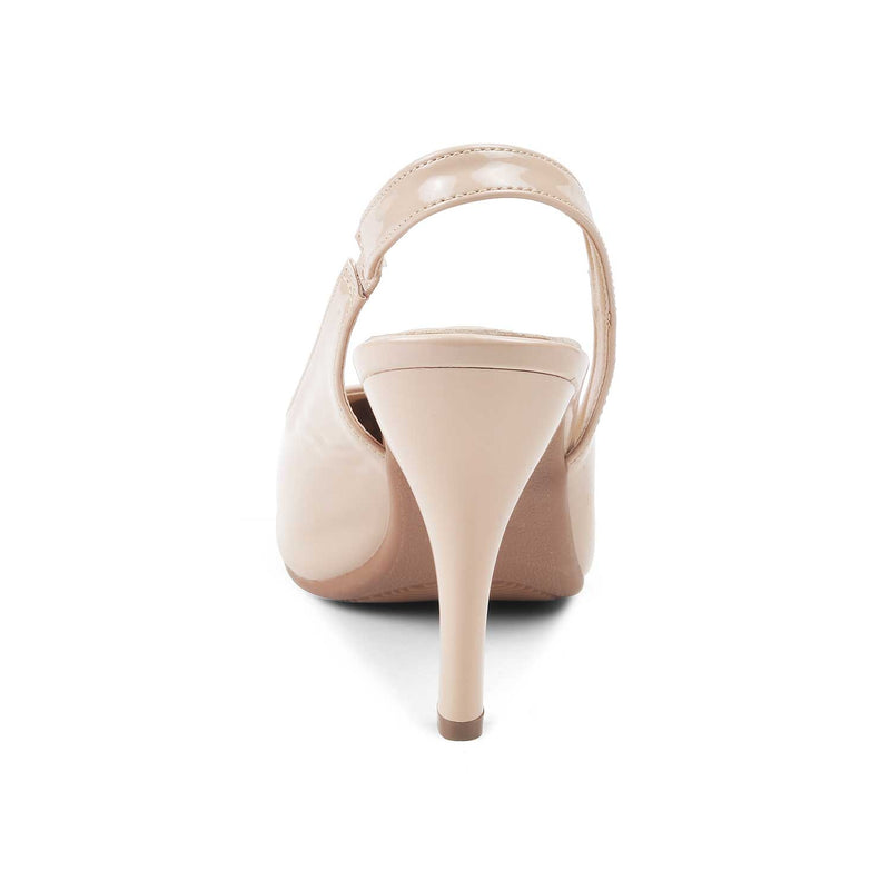 The Bank Beige - Beige pumps for women - Tresmode