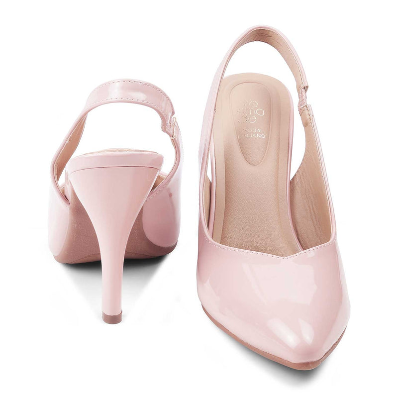 The Bank Pink pumps for women