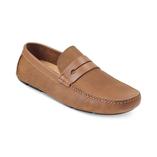 The Belen Tan - Tan Driving Loafers - Tresmode
