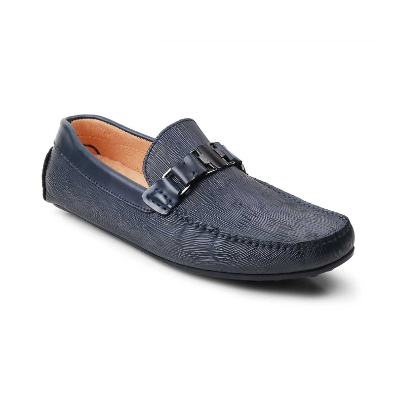 Blue Driving Loafers-The Berna Blue-Tresmode