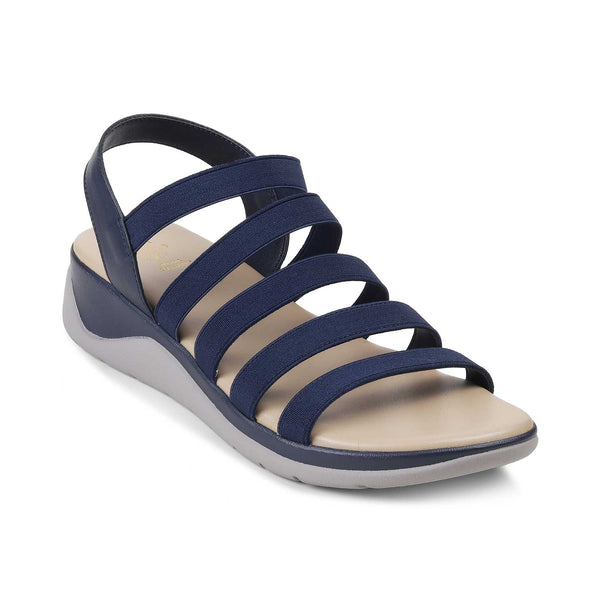 The Caburo BlueBlue Casual Strappy Sandals for Women - Tresmode