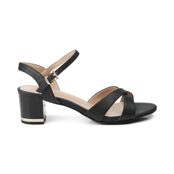 The Bandi-1 black Black Casual Sandals For Women