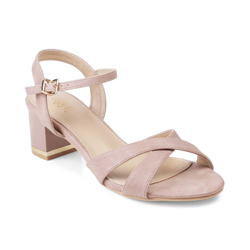 The Bandi-1 Pink - Pink Casual Sandals For Women - Tresmode