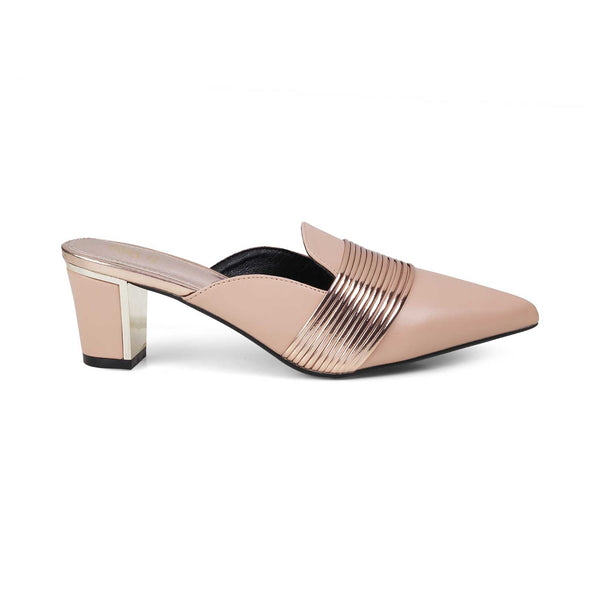 The Delphine Pink - Pink block heel sandals for women - Tresmode