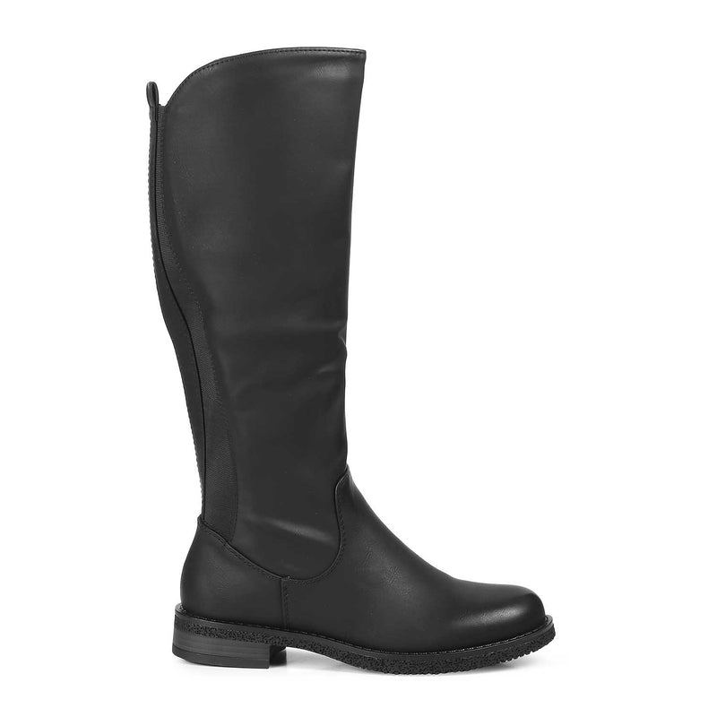The Dorian Black - Black Knee-length Boots - Tresmode